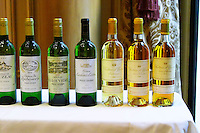 Lurton made wines: Cruzeau, Rochemorin, La Louviere, couhins, Yquem... Bordeaux, France