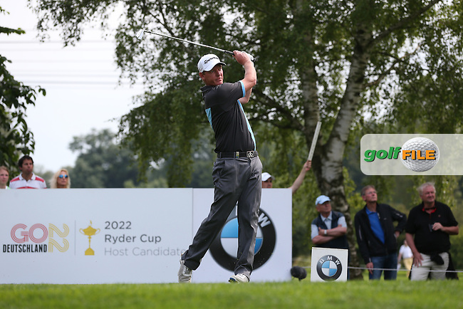 Daniel Gaunt (ENG) plays from the 16th tee during Round Three of the 2015 BMW International Open at Golfclub Munchen Eichenried, Eichenried, Munich, Germany. 27/06/2015. Picture David Lloyd | www.golffile.ie