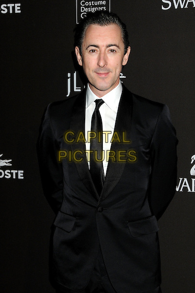 ALAN CUMMING .Attending the 12th Annual Costume Designers Guild Awards held at the Beverly Hilton Hotel.  .Beverly Hills, California, USA,  .25th February 2010 .arrivals half length suit white shirt black tie .CAP/ADM/BP.©Byron Purvis/AdMedia/Capital Pictures.
