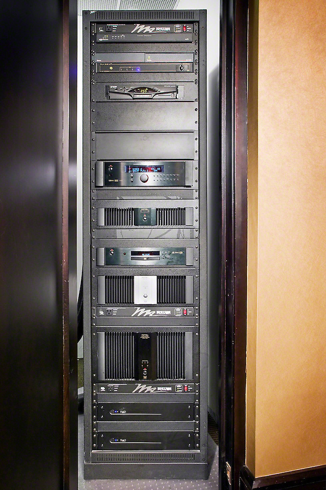 AV Rack In Closet
