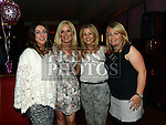 Rosemary Arnold celebrating her 40th birthday in Brú with friends Lorraine Wynne, Emma Smart and Ashley Byrne. Photo:Colin Bell/pressphotos.ie