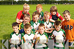 STAR APPEAL: Footballers from Currow and Scartaglin enjoying the Kerry GAA/VHI Cul Camp in Currow on Friday last..Front L/r. Niall Brosnan (Currow), Alex Fleming (Currow), Jeremiah O'Sullivan (Currow), Ben O'Rourke (Currow)..Second row L/r. Bill O'Connell (Scartaglin), Jack Walsh (Scartaglin), Kevin Shanahan (Croagh), Oison Fleming (Currow)..Back L/t. Michael O'Shea (Firies), Pierce Daly (Currow) and Sean O'Connell (Scartaglin)..
