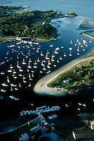 Cohasset harbor aerial, Cohasset, MA