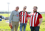 Sheffield United's fans before the League One match at the Sixfields Stadium, Northampton. Picture date: April 8th, 2017. Pic David Klein/Sportimage