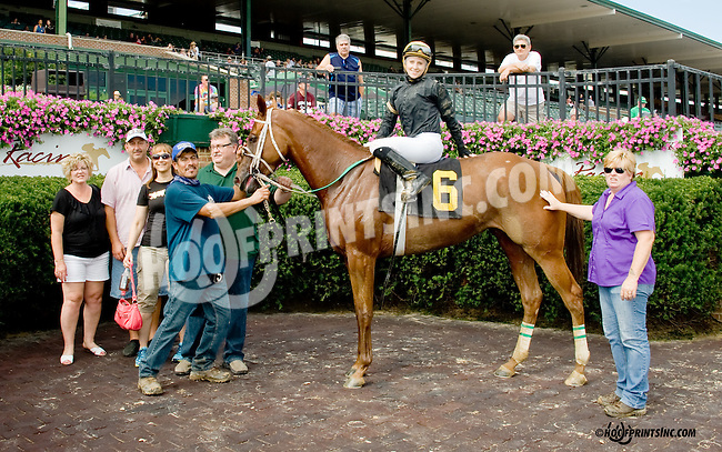 First Betrayal winning at Delaware Park on 9/1/14