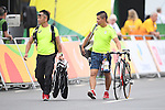 General view, <br /> SEPTEMBER 16, 2016 - Cycling - Road : <br /> Men's Road Race C1-2-3 <br /> at Pontal <br /> during the Rio 2016 Paralympic Games in Rio de Janeiro, Brazil.<br /> (Photo by AFLO SPORT)