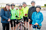 Michael Healy Rae, Bobs Sparie, Caitriona Donovan, Liam Gowan, Declan Lawless and Loretta O'Connor at the Stephenie O'Sullivan Memorial Cycle at Milton on Sunday.