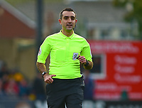 Referee Paul Marsden<br /> <br /> Photographer Andrew Vaughan/CameraSport<br /> <br /> The EFL Sky Bet League Two - Lincoln City v Crewe Alexandra - Saturday 6th October 2018 - Sincil Bank - Lincoln<br /> <br /> World Copyright &copy; 2018 CameraSport. All rights reserved. 43 Linden Ave. Countesthorpe. Leicester. England. LE8 5PG - Tel: +44 (0) 116 277 4147 - admin@camerasport.com - www.camerasport.com