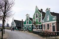 Nederland Zaanstad 2018 . Winter in Zaanse Schans.   Foto Berlinda van Dam / Hollandse Hoogte