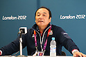 Japan Delegation during the Press Conference for the London 2012 Olympic Games