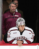 John O'Donnell (Harvard - Equipment Manager), Peter Traber (Harvard - 32) - The Harvard University Crimson defeated the visiting Brown University Brown Bears 5-2 (EN) on Saturday, November 7, 2015, at Bright-Landry Center in Boston, Massachusetts.