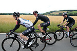 White Jersey Eddie Dunbar (IRL) and Pavel Sivakov (RUS)Team Ineos during Stage 2 of the Route d'Occitanie 2019, running 187.7km from Labruguière to Martres-Tolosane, France. 21st June 2019<br /> Picture: Colin Flockton | Cyclefile<br /> All photos usage must carry mandatory copyright credit (© Cyclefile | Colin Flockton)