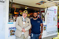 Food area during Day 2 of the Second International Cricket Test match, New Zealand V England, Hagley Oval, Christchurch, New Zealand, 31th March 2018.Copyright photo: John Davidson / www.photosport.nz