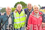 Enjoying the regatta in Waterville at the Weekend were l-r; Denis Fenton, John Moran, Sean & Mary Clifford.