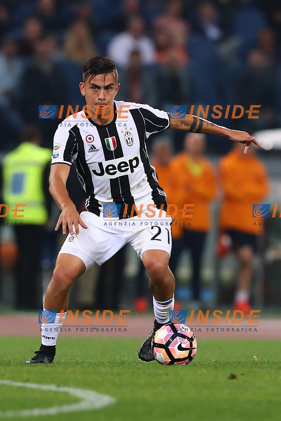 Paulo Dybala Juventus<br /> Roma 14-05-2017  Stadio Olimpico <br /> Campionato Serie A AS Roma - Juventus<br /> Foto Cesare Purini / Insidefoto