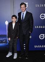 "06 December 2016 - Westwood, California. Tom Everett Scott, Finn Scott.   Premiere of Liongate's ""La La Land""  held at Mann Village Theater. Photo Credit: Birdie Thompson/AdMedia"