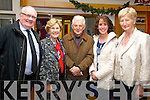 Tim  Guiheen, Bridie O'Sullivan Denis O'Dowd, Mags O'Sullivan and Mairead Fernane, pictured at the gala concert held in Siamsa Tire, Tralee on Saturday evening.