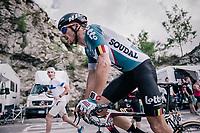 Adam Hansen (AUS/Lotto-Soudal) up the final climb to Pratonevoso<br /> <br /> stage 18: Abbiategrasso - Pratonevoso (196km)<br /> 101th Giro d'Italia 2018