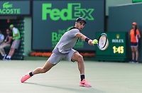 BORNA CORIC (CRO)<br /> <br /> MIAMI OPEN, CRANDON PARK, KEY BISCAYNE, FLORIDA, USA<br /> ATP 1000, WTA PREMIER MANDATORY<br /> MEN &amp; WOMEN<br /> <br /> &copy; TENNIS PHOTO NETWORK