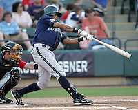 New Orleans Zephyrs 3B Anderson Machado on Sunday June 1st at Dell Diamond in Round Rock, Texas. Photo by Andrew Woolley / Four Seam Images.