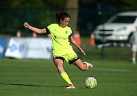 Kansas City, MO - Saturday June 25, 2016:  Lauren Barnes during a regular season National Women's Soccer League (NWSL) match at Swope Soccer Village.