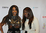 Honoree Karen Mitchell poses with Beverly Johnson at Color of Beauty Awards honoring supermodel Beverly Johnson on February 4, 2014 at Holy Apostles, New York City, New York. (Photo by Sue Coflin/Max Photos)