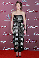 PALM SPRINGS, CA, USA - JANUARY 03: Carrie Coon arrives at the 26th Annual Palm Springs International Film Festival Awards Gala Presented By Cartier held at the Palm Springs Convention Center on January 3, 2015 in Palm Springs, California, United States. (Photo by David Acosta/Celebrity Monitor)