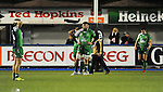 Connacht players look dejected after Cardiff Blues score a try in the dying moments <br /> Guiness Pro12<br /> Cardiff Blue v Connacht<br /> BT Sport Cardiff Arms Park<br /> 06.03.15<br /> &copy;Ian Cook -SPORTINGWALES