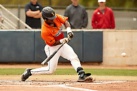 SAN ANTONIO, TX - MARCH 30, 2019: The University of Texas at San Antonio Roadrunners score three runs in the bottom of the ninth to defeat the University of Southern Mississippi Golden Eagles 6-5 at Roadrunner Field. (Photo by Jeff Huehn)