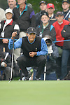 Ryder Cup 206 K Club, Straffan, Ireland.USA Ryder Cup team player Tiger Woods on the 1st green during  the  morning fourballs session of the second day of the 2006 Ryder Cup at the K Club in Straffan, Co Kildare, in the Republic of Ireland, 23 September 2006...Photo: Eoin Clarke/ Newsfile.