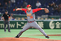 Luo Xia (CHN), <br /> MARCH 8, 2017 - WBC : <br /> 2017 World Baseball Classic <br /> First Round Pool B Game <br /> between China - Cuba <br /> at Tokyo Dome in Tokyo, Japan. <br /> (Photo by YUTAKA/AFLO SPORT)
