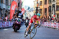Picture by Alex Whitehead/SWpix.com - 30/09/2018 - Cycling - UCI 2018 Road World Championships - Innsbruck-Tirol, Austria - Elite Men's Road Race. Denmark.