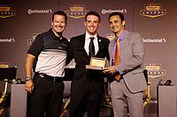2018 Continental Tire SportsCar Challenge Awards, <br /> Travis Roffler, Britt Casey, Jr., Tom Long