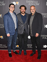 "30 July 2019 - Los Angeles, California - Bradley Gallo, Michael Helfant. ""Them That Follow"" Los Angeles Premiere held at the Landmark Theatre. Photo Credit: Billy Bennight/AdMedia"