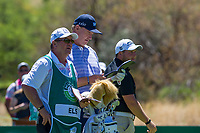 Ernie Els (RSA) and Zander Lombard (RSA) during the 2nd round at the Nedbank Golf Challenge hosted by Gary Player,  Gary Player country Club, Sun City, Rustenburg, South Africa. 15/11/2019 <br /> Picture: Golffile | Tyrone Winfield<br /> <br /> <br /> All photo usage must carry mandatory copyright credit (© Golffile | Tyrone Winfield)