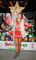Talia Dean at the &quot;Nativity Rocks!&quot; gala film screening, Vue West End, Leicester Square, London, England, UK, on Sunday 04 November 2018.<br /> CAP/CAN<br /> &copy;CAN/Capital Pictures