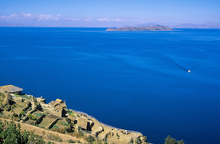 Lake Titicaca, Bolivia, 1999.