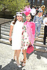 Ann Van Nees and Patricia Shiah attends the Central Park Conservancy Hat Luncheon on May 2, 2018 in the Conservatory Garden in New York, New York, USA.<br /> <br /> photo by Robin Platzer/Twin Images<br />  <br /> phone number 212-935-0770