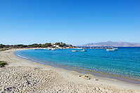 Agia Anna beach of Naxos island in Cyclades, Greece