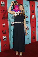 HOLLYWOOD, LOS ANGELES, CA, USA - OCTOBER 05: Jyoti Amge, Amazon Eve arrive at the Los Angeles Premiere Screening Of FX's 'American Horror Story: Freak Show' held at the TCL Chinese Theatre on October 5, 2014 in Hollywood, Los Angeles, California, United States. (Photo by Celebrity Monitor)