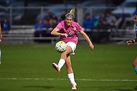 Kansas City, MO - Friday May 13, 2016: FC Kansas City midfielder Jen Buczkowski (6) against the Chicago Red Stars during a regular season National Women's Soccer League (NWSL) match at Swope Soccer Village.