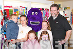 FUJI: At the Fuji event at CH Chemists, The Mall, Tralee, on Saturday and to meet up with Podge Kelly (Fuji Ireland) and Barney were Lea and Keith Enright, Sarah Hayes, Lea Browne and Julia O'Connor (Tralee)..