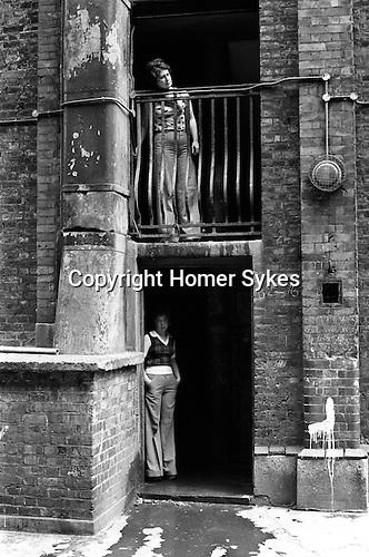 Tower Hamlets  Whitechapel east London UK 1975