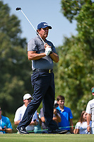 Phil Mickelson (USA) watches his tee shot on 9 during round 3 of the WGC FedEx St. Jude Invitational, TPC Southwind, Memphis, Tennessee, USA. 7/27/2019.<br /> Picture Ken Murray / Golffile.ie<br /> <br /> All photo usage must carry mandatory copyright credit (© Golffile | Ken Murray)