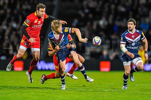 29.03.2014. Bordeaux, France. Top 14 rugby Union. Bordeaux versus Perpignan.  Blair CONNOR (ubb)
