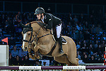 William Whitaker of United Kingdom  riding Fento Chin S competes during the Hong Kong Tatler Trophy, part of the Longines Masters of Hong Kong on 12 February 2017 at the Asia World Expo in Hong Kong, China. Photo by Marcio Rodrigo Machado / Power Sport Images