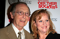 """LOS ANGELES - APR 10:  Bernie Kopell, wife at the """"Off Their Rockers"""" Event at the Viceroy Hotel  on April 10, 2012 in Santa Monica, CA<br /> <br /> Celebration of Betty White's 'Off Their Rockers' at the Viceroy Hotel on April 10, 2012 in Santa Monica, California"""