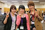 (L-R) Moemi Kikuchi (JPN), Sumire Kikuchi (JPN), Ayaka Kikuchi (JPN), APRIL 22, 2013 : The Building up Team Japan 2013 for Sochi at Ajinomoto NTC, Tokyo, Japan. (Photo by AFLO SPORT) [1156]