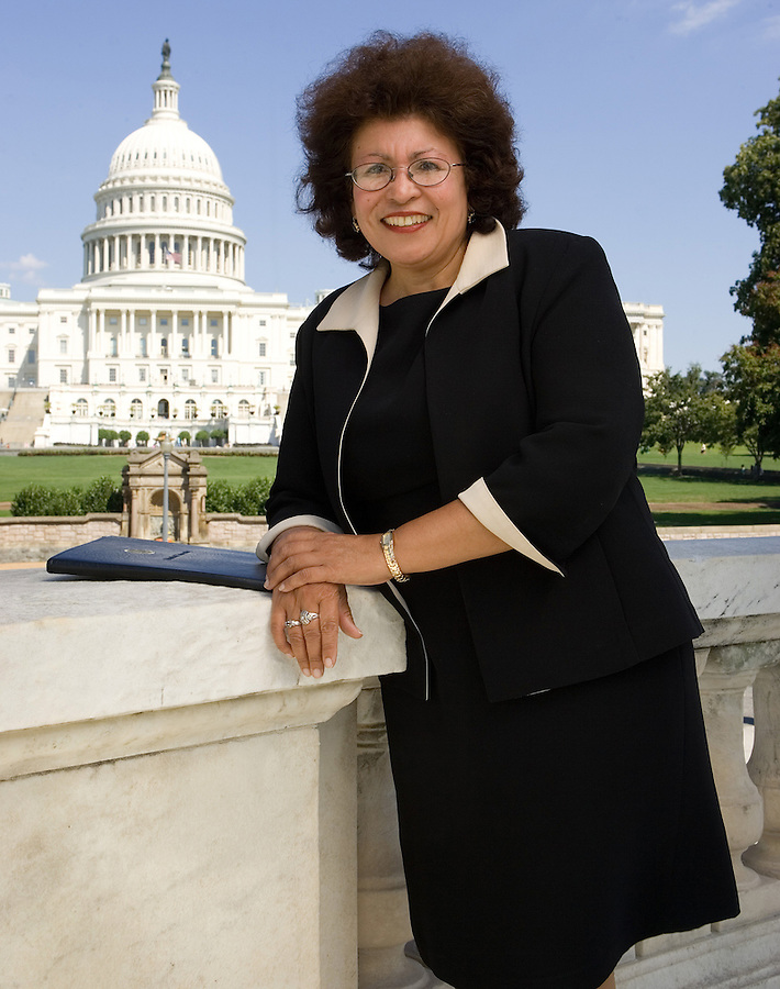 Slug: AMN/Rios.Date: 08-16-2006.Photographer: Mark Finkenstaedt .Location: 1st Street. NW Washington, DC..Caption: Dr. Elena Rios MD., M.S.P.H. President and CEO of the National Hispanic Medical Association....© Mark Finkenstaedt 2006.  mark@mfpix.com All Rights Reserved.  For the use of AMN only  No external Editorial use,.