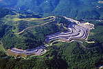 Strip mining, Eastern Kentucky, USA.